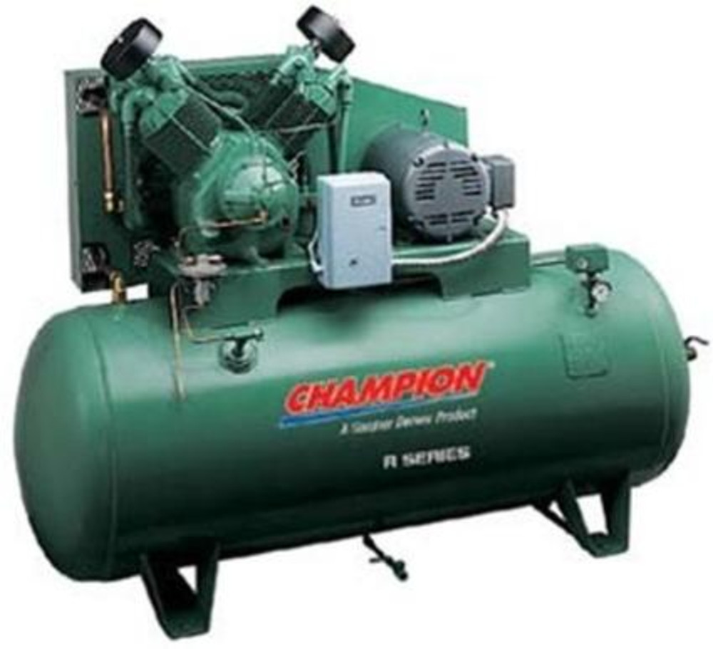 Champion Air Compressor 20 H P 120 Gallon Horizontal