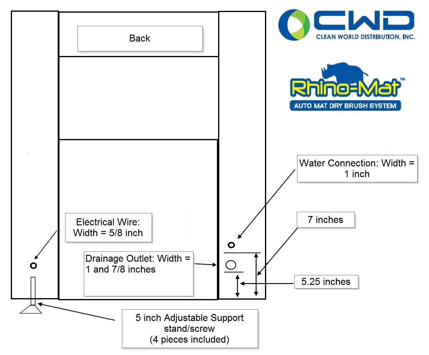 Tommy Rhino Mat Cleaner Semi Automatic Washing Machine Wiring Diagram Installation